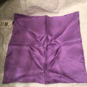 Other - Purple silk pocket square